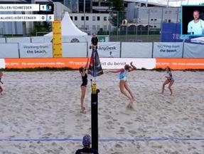 """Beachvolleyball Qualifiers in Stuttgart für die Deutsche Meisterschaft """"Timmendorfer Strand"""""""