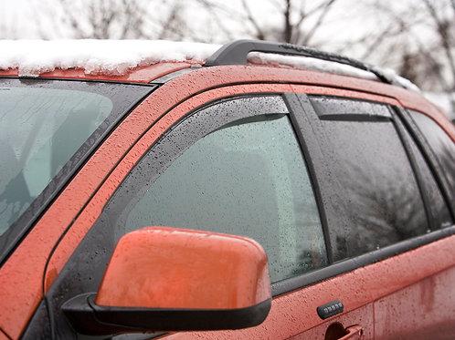 WeatherTech In-Channel Side Window Deflectors - Rain Guards