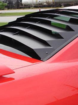 Astro Hammond Aluminum & ABS Hood, Side & Rear Louvers & Scoops