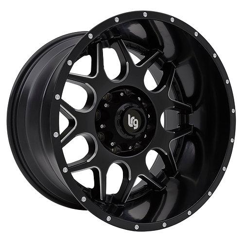 LRG Rim Series 104 - Black/Milled