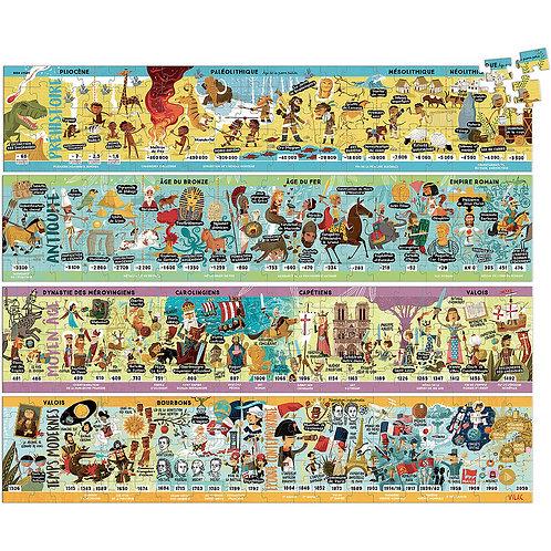 Grande frise historique puzzle 4 x 100 pcs