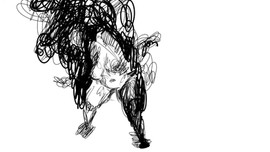 """Una danza perpetua tra pensieri, presente e corpo"" (""A perpetual dance between thoughts, present and body""), Animation Rotoscoping"