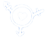 Trans symbol with a heart at the center