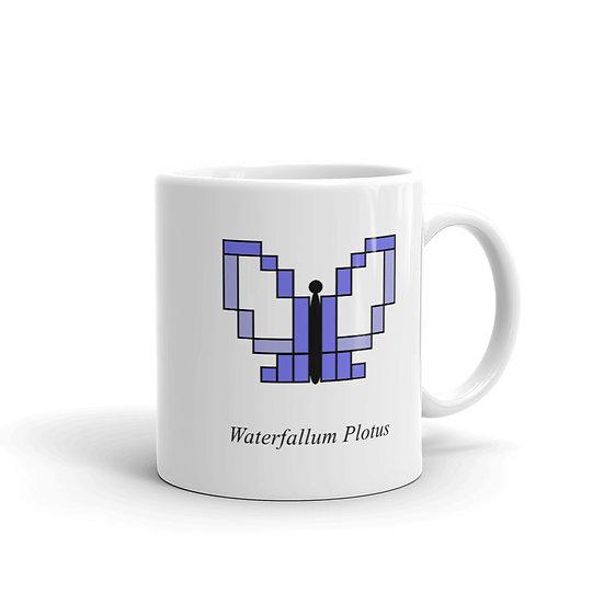 Datavizbutterfly - Waterfallum Plotus - Mug