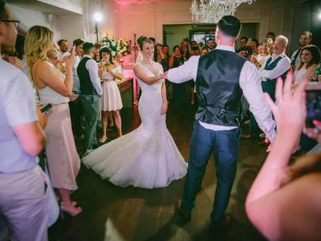 The first dance...