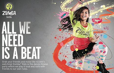 ZUMBA: Family Fitness Fun June 2nd at 5:00 PM (Register Ages 4-14)