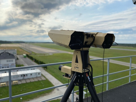 NATO Ämari airbase tests new innovative anti-drone platform