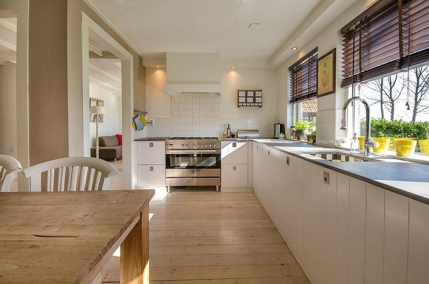 Kitchen work zones