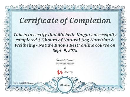 natural dog nutrition certificate.jpg