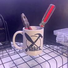 White Maker Mug