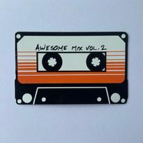 Awesome Mix Vinyl Sticker