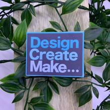 Design Create Make Sticker