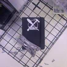 Maker Black Notebook