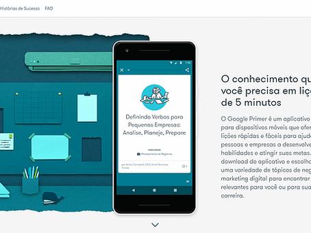 GOOGLE PRIMER — Lições de Marketing Digital em 5 minutos!