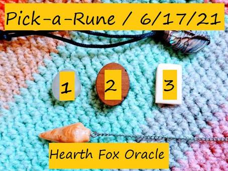 Pick-A-Rune - 6/17/21