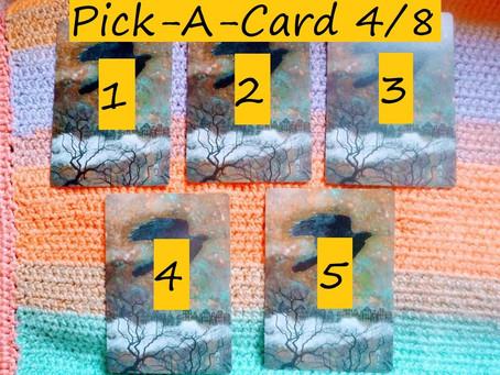 Pick-A-Card - 4/8/21