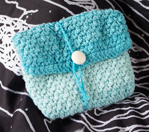 Blue Pearl Pouch