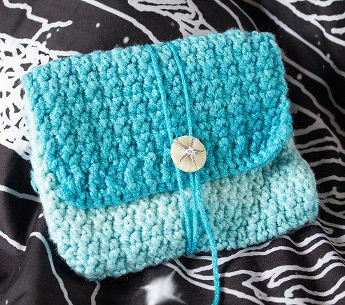 Starfish Blue Pouch