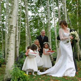 Wedding in the Birches