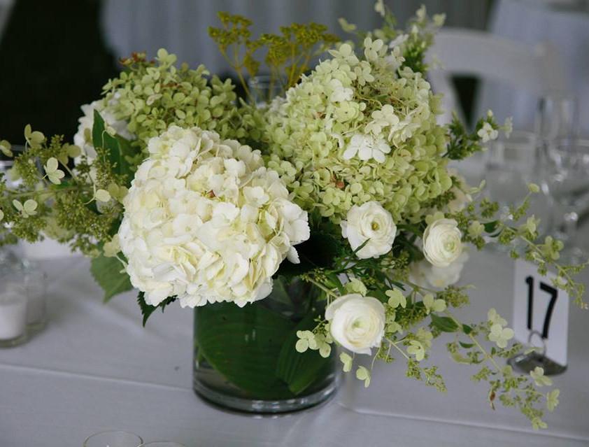 White on White arrangement