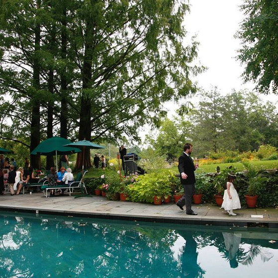 Reception at the Pool