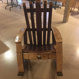 Barrel Stave Rocker