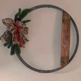 Barrel Ring Wreath