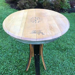 Barrel Top Bistro Table