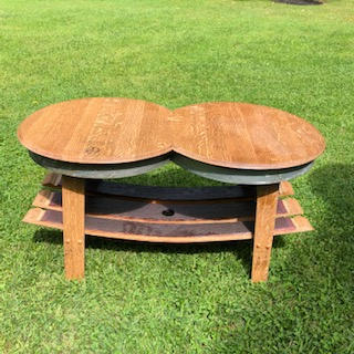 Double Top Coffee Table