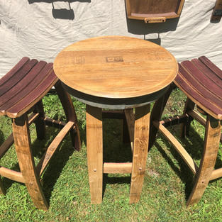 Bistro Table and Stools
