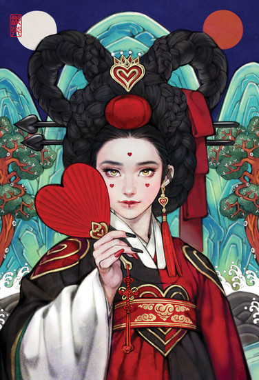 이상한 나라의 앨리스_하트여왕/ Alice in Wonderland_The Heart Queen