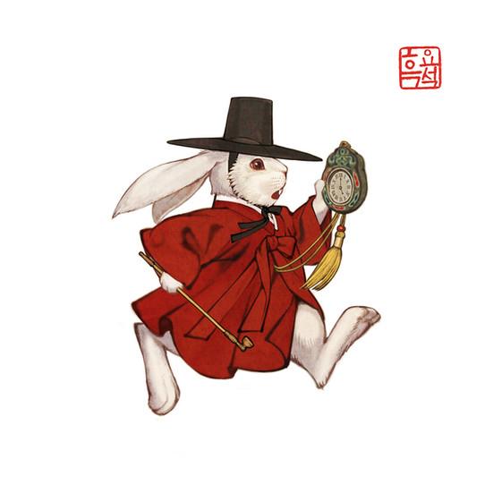 이상한 나라의 앨리스_시계토끼1 / Alice in Wonderland_White Rabbit 1