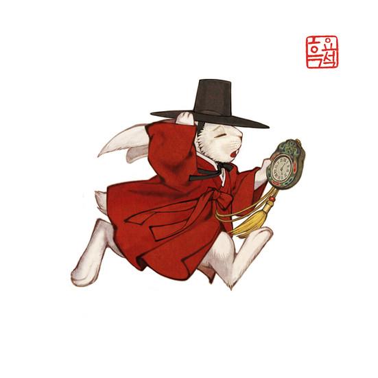 이상한 나라의 앨리스_시계토끼2 / Alice in Wonderland_White Rabbit 2