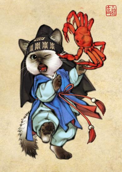 도령고양이 / Cat Bachelor