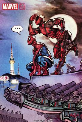 스파이더맨&데드풀 : 이건 팀업이 아니야 / Spiderman & Deadpool : This is not a Teamwork