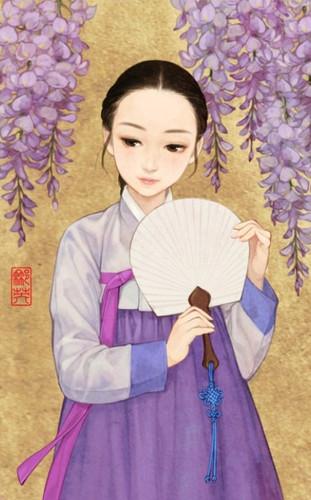 등나무꽃 소녀 / Ivy