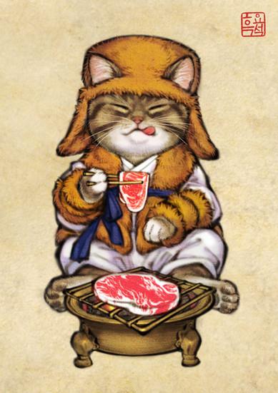 산적고양이 / Cat Bandit