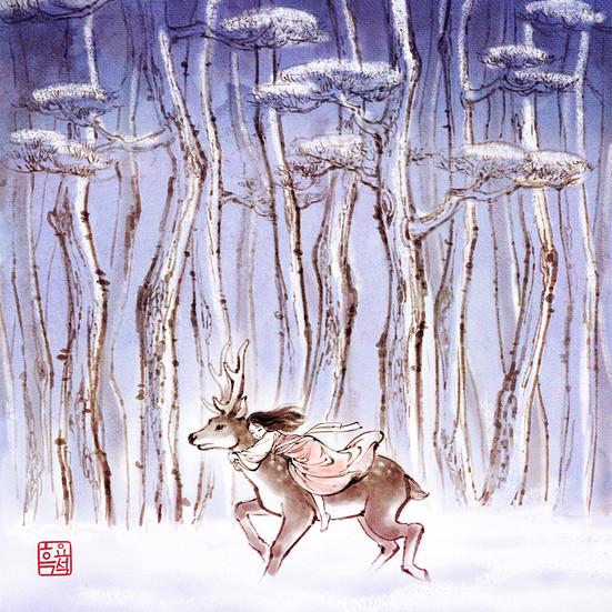 눈의 여왕_카이를 찾아가는 젤다 / The Snow Queen_Gerda, way to save Kai