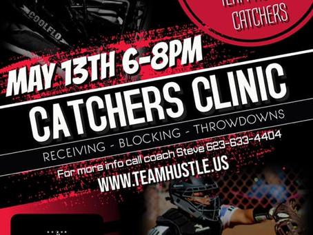 Catchers Clinic 5/13/2019