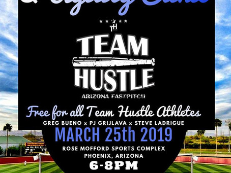 Click Here - Base Running & Agility Clinic 3/25/19