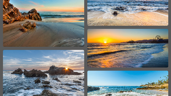 California Sunset Collection