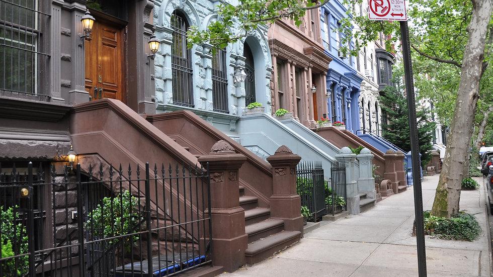 Brownstones, New York