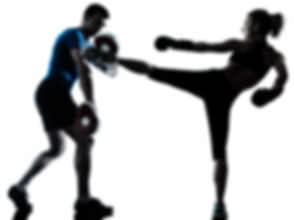 kickboxing-woman-and-trainer-silhouette.