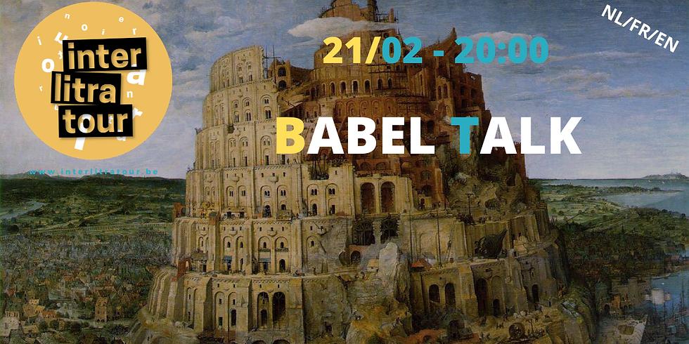 Babel event // Mohamed El Bachiri, Hind Fraihi, Sarah Harris, Karel Sergen, Maria Palatine e.a