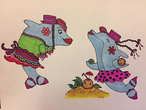 Ukulele @ Peabody Charter/1st-3rd Grades (Dolphins) Spring 2020