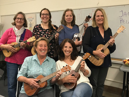 First Ukulele Session for Adults