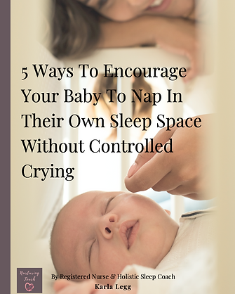 Baby Sleeping In Own Sleep Space Without Control Crying