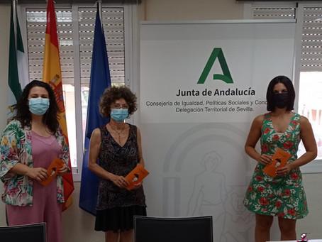 Reunión con Dña. Ana González Pinto, Delegada Territorial de Igualdad, Políticas Sociales e Igualdad