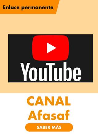 Canal Youtube de Afasaf