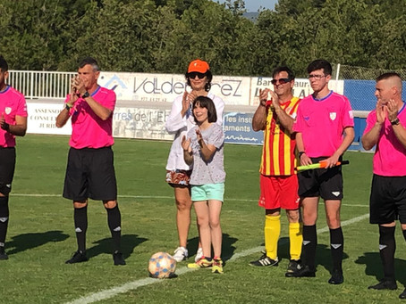Partido de fútbol solidario AE Veterans Roquetenc TE - A. Veterans Reus